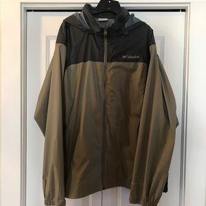 Mens Columbia Omni Shield Jacket Windbreaker XL